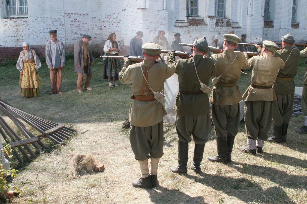 Восстание крестьян на Тамбовщине